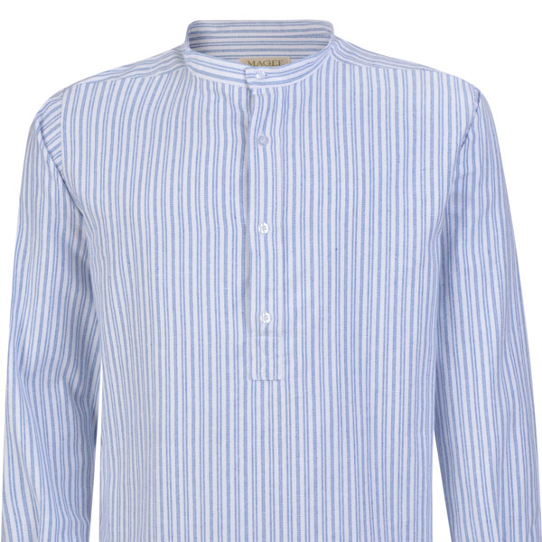 Magee 1866 Striped Grandfather shirt